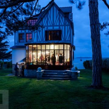 Mariage en Bretagne, sur l'Île aux Moines.