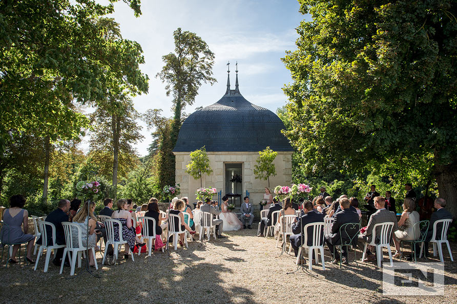 Wedding chateau St Loup