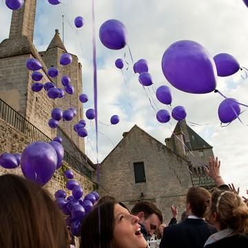Mariage au château de Creully dans le Calvados
