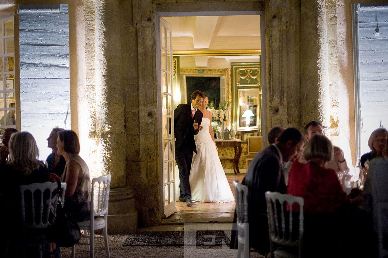 wedding dinner France