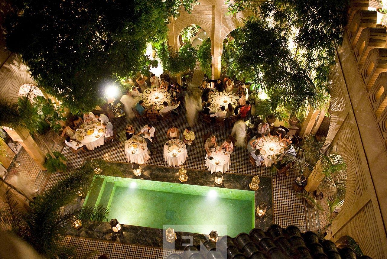 marrakech ryad wedding