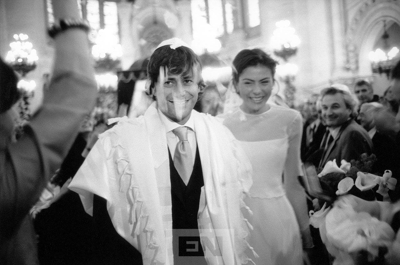 Synagogue Victoire wedding Paris